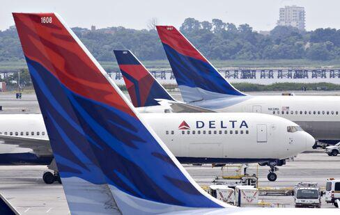 Delta Air Lines planes