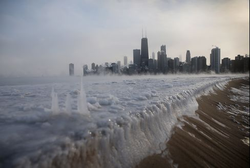 Ice in Chicago