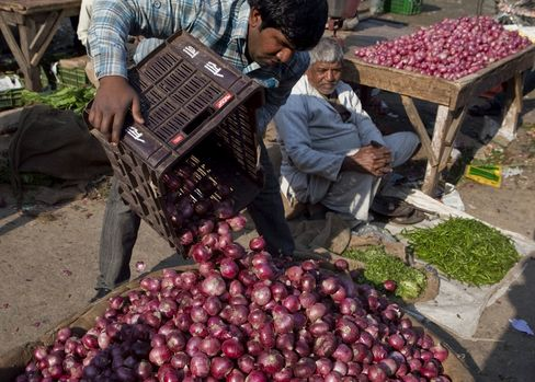 India Food Inflation a Concern, Mukherjee Says in Speech