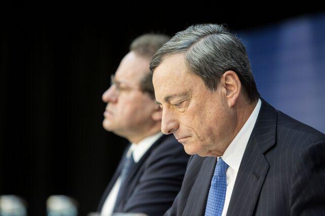 Where's thequantitative easing, Mario Draghi?
