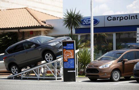 European Auto Market Begins to Bounce Back as Economy Improves