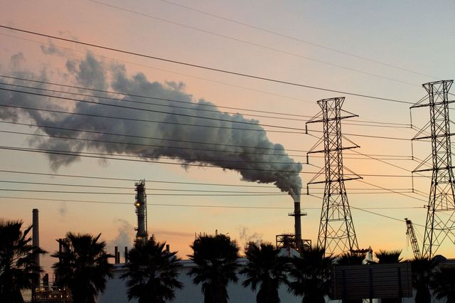 It's time for action against carbon emissions.Photographer: F. Carter Smith/Bloomberg