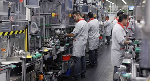 German Industrial Output Declined More Than Forecast in April