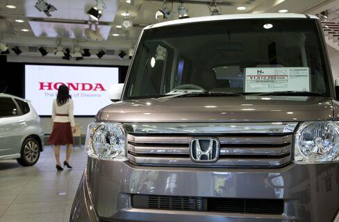 Honda Motor Co. N-Box minicar