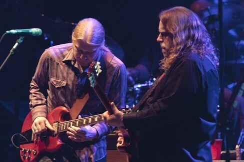 Derek Trucks and Warren Haynes