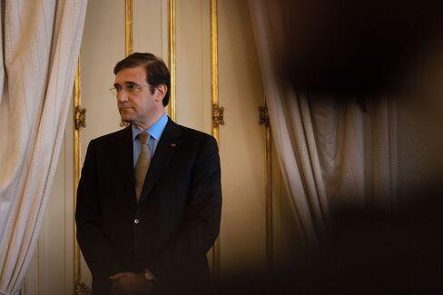 Portuguese Prime Minister Pedro Passos Coelho