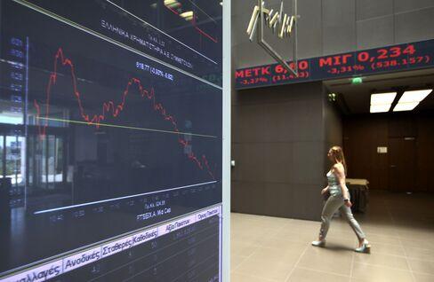 European Stocks Drop Following Yesterday's Rally