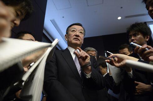 Sharp Corp President Kozo Takahashi