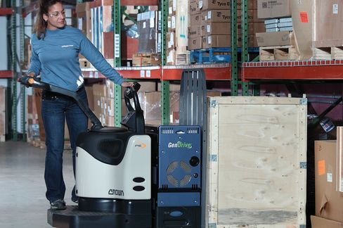 Plug Power's Fuel Cell-Powered Forklifts