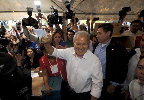 El Salvador VP Salvador Sanchez Ceren