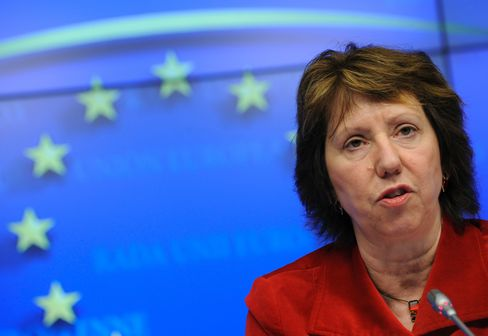 European Union Foreign-Affairs Chief Catherine Ashton