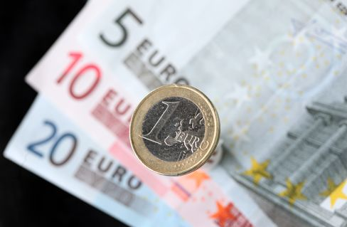 Euro Declines Versus Most Peers After Moody's Cuts France Rating
