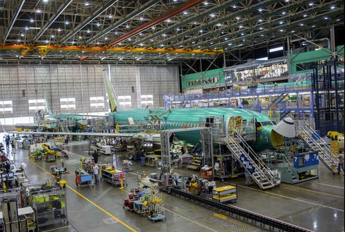 Boeing 737 Production Line