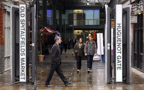 Tribeca Said Near to Deal for London's Old Spitalfields Market