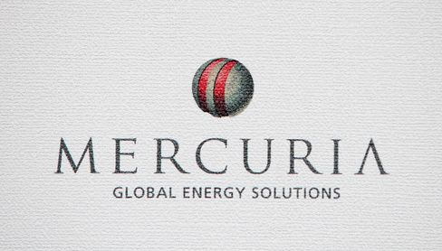 The Logo of Mercuria Energy Ltd. is Displayed in Montreal