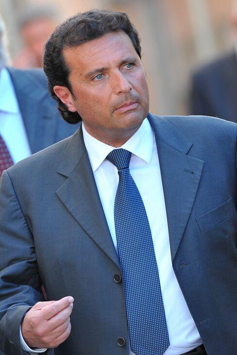 Costa Concordia's Captain Francesco Schettino