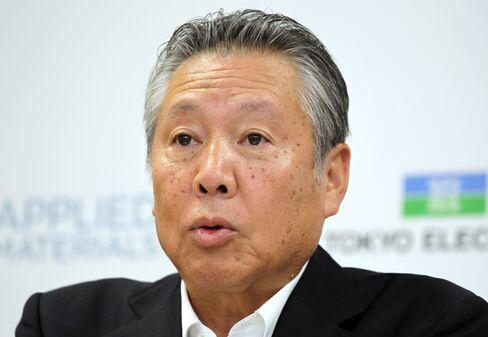 Tokyo Electron President Tetsuro Higashi