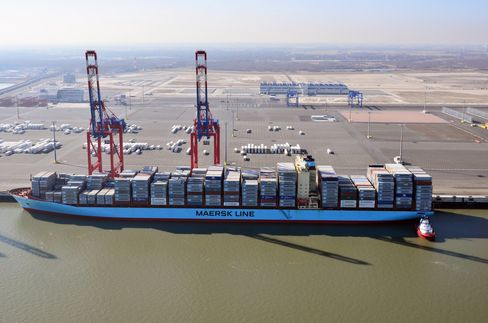Germany Ghost Port Shows Container Slowdown Enduring