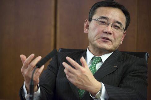 Fujitsu President Masami Yamamoto