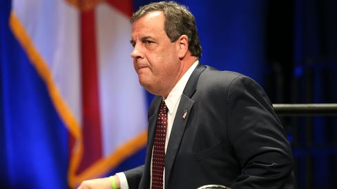 Republican presidential candidate Chris Christie attends the Sunshine Summit conference on Nov. 14, 2015, in Orlando, Florida.