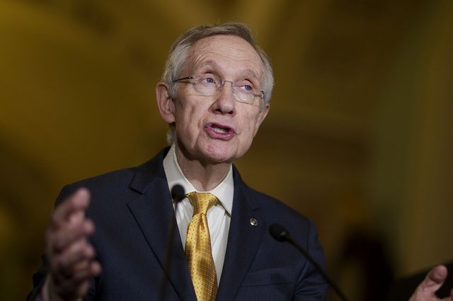 Will Senate Majority Leader Harry Reid honor Senator Rand Paul's hold on an appellate court nomination?Photographer: Andrew Harrer/Bloomberg