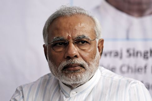 Chief Minister of Gujarat State Narendra Modi