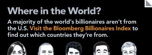 Billionaires: Where in the World?