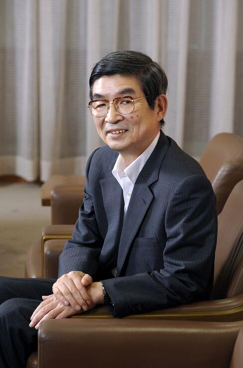 Japanese Bankers Association Chairman Katsunori Nagayasu