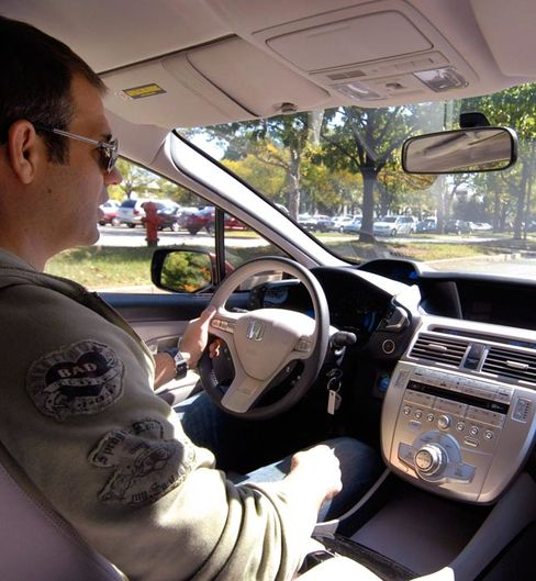 Honda FCX Clarity hydrogen vehicle