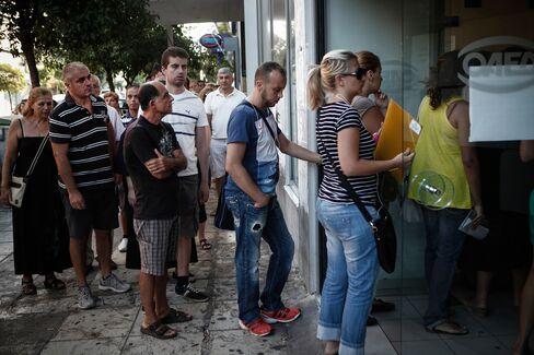 Jobseekers in Greece