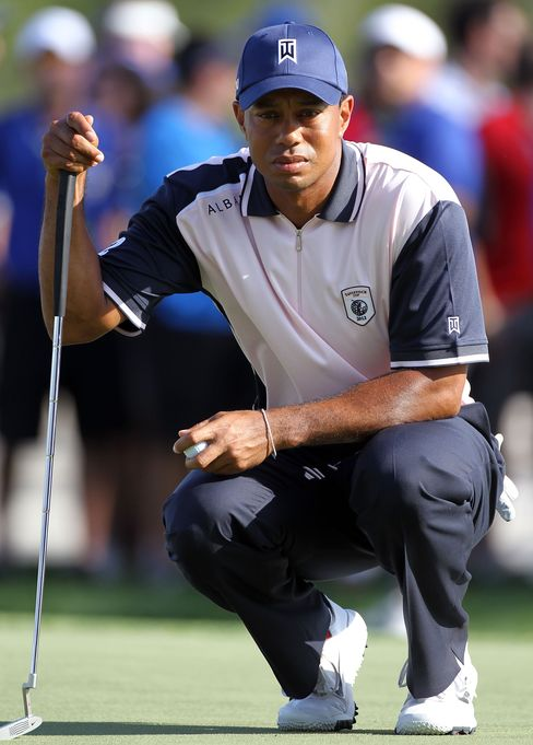 Tiger Woods Comes Through Two Days Tavistock Cup Unscathed