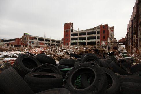 Abandoned Packard Automotive Plant