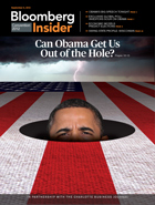 Bloomberg Insider Magazine Cover, Sept. 6 Conventions Edition