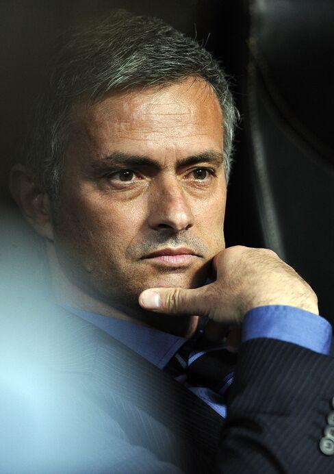 Jose Mourinho, Inter Milan's coach