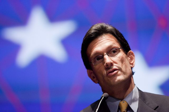 The stars didn't align for House Republican Eric Cantor.