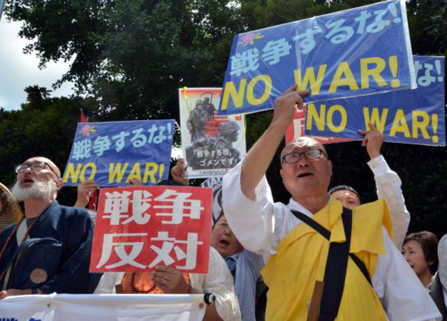 Not everyone wants a remilitarized Japan.