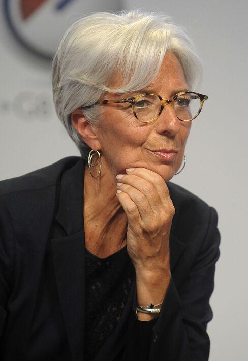 France's Finance Minister Christine Lagarde