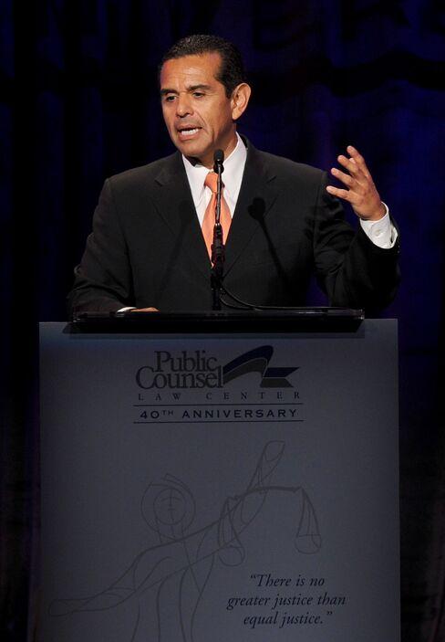 Los Angeles Mayor Villaraigosa