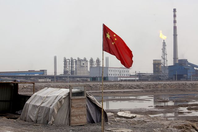 Without China, fighting climate change goes nowhere.              Photographer: Adam Dean/Bloomberg