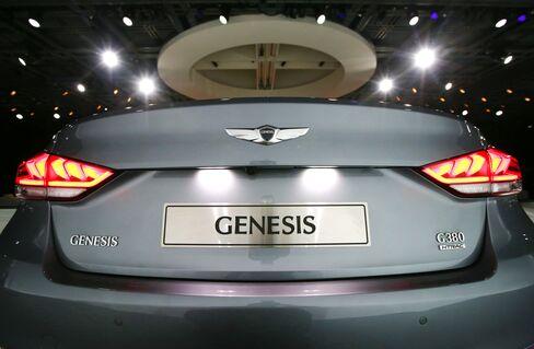 Hyundai's New Genesis Sedan