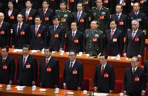 China's Leadership Change Will Help Stocks, Robeco's Mio Says