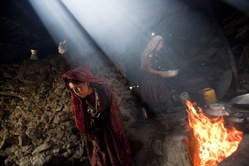 Wakhi Women in the Wakhan Region of Afghanistan