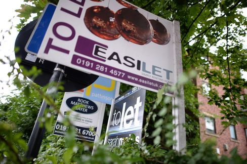 U.K.'s Buy-to-Let Booms as BOE Prepares Stress Tests