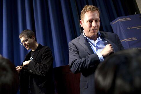 Thiel's Clarium Hedge Fund Invests in Tech