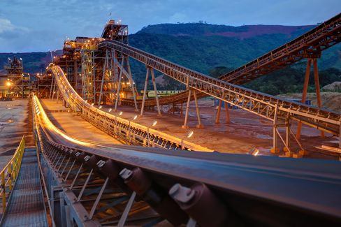 JPMorgan Chase & Co. estimates that a geological beltway running through Sierra Leone, Liberia and Guinea could account for almost 40 percent of global iron-ore exports within a decade, challenging long-dominant suppliers in Australia and South America and Tonkolili mine is the largest so far. Source: African Minerals Ltd.