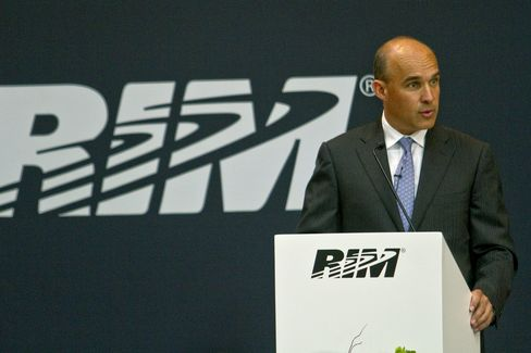 RIM Co-Chief Executive Officer James Balsillie