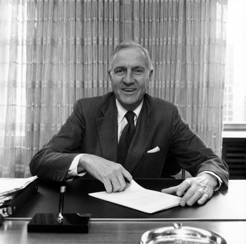 Former Mobil Oil Corp. CEO Rawleigh Warner