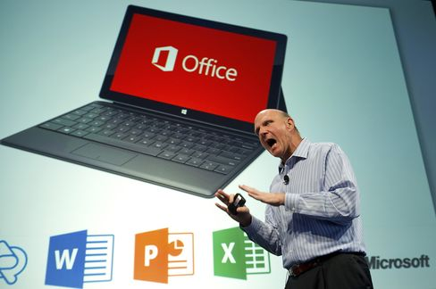 Microsoft Profit Tops Estimates as Companies Upgrade Computers