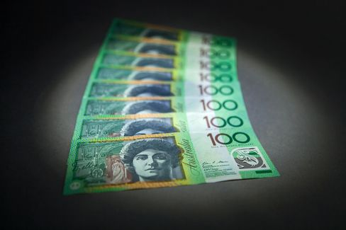 Aussie Rebounds From Near 3-Year Low on Bets Drop Was Excessive