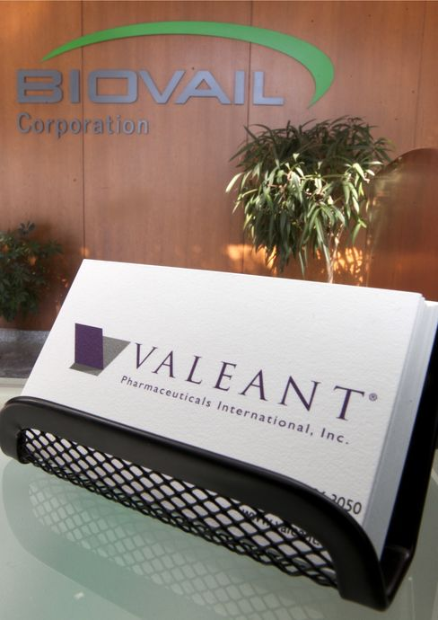 Valeant Said to Approach Swedish Drugmaker Meda on Takeover